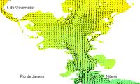 Previsão diária da circulação marinha na Baía de Guanabara