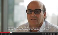 Prof. Luiz Landau que fala sobre o Projeto Azul